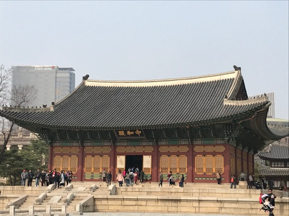Deoksegung Palace Throne Room